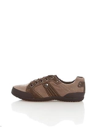 Geox Donna winter Luras D1369F0DPCLC1006 - Zapatillas para mujer (Gris)
