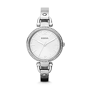 Fossil Georgia Analog Silver Dial Women's Watch - ES3225