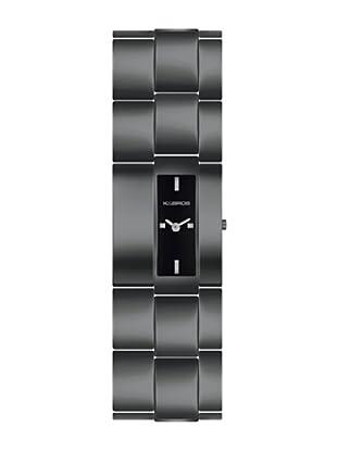 K&BROS 9162-1 / Reloj de Señora con brazalete metálico negro