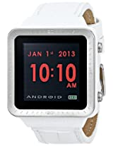 ANDROID Unisex AD721BW SmartWatch GTS Digital Quartz White Watch