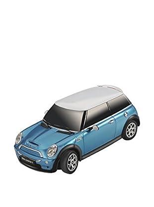F&P Juguete Radiocontrol Mini Cooper 2/S 1:18 Azul