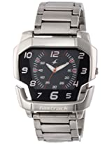 Fastrack Speed Racer Analog Black Dial Men's Watch - NE3079SM02