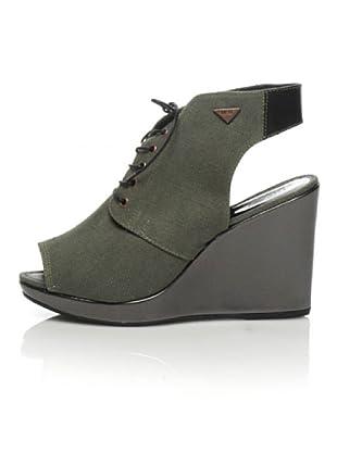 Diesel Keil-Sandalette On The Wedge (military grün)