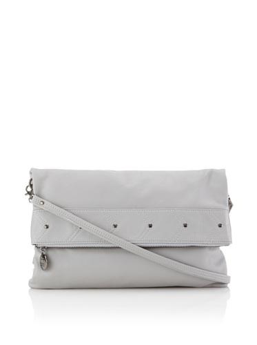 Gorjana Women's Lexington Foldover Bag (Light Grey)