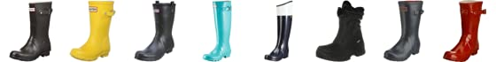Hunter Men's Original Short Wellington Boot
