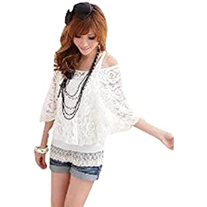 Smart Twin-set Casual Lace Top for Women