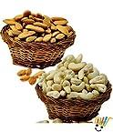 Little India Selected Kaju Badam Combo Dryfruits Gift Box