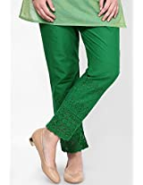 Castle Women's Palazzo (Green_Free Size)