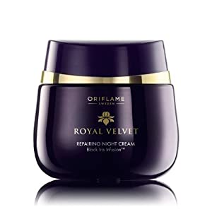 Royal Velvet Repairing Night Cream, 50 ml/ +40 years . Imported from Europe/ Not available in USA