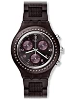 Swatch Tobacco Scent Chronograph Ladies Watch SVCV4000AG