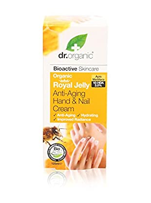 Dr.Organic Hand- und Nagelcreme Organic Royal Jelly 125 ml, Preis/100 ml 9.56