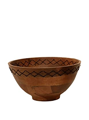 Bliss Studio Burges Wooden Bowl, Large, Natural
