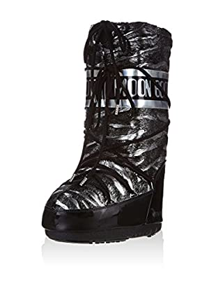 Moon Boot Botas Black Rose