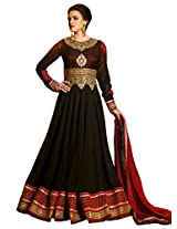 New Designer and Party wear maroon And Black Salwar Suit FA230-9011