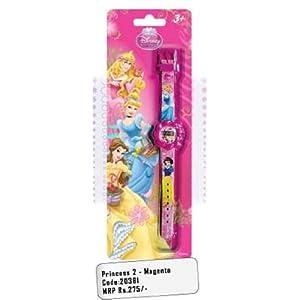 Disney Princess 2 Magenta Watch