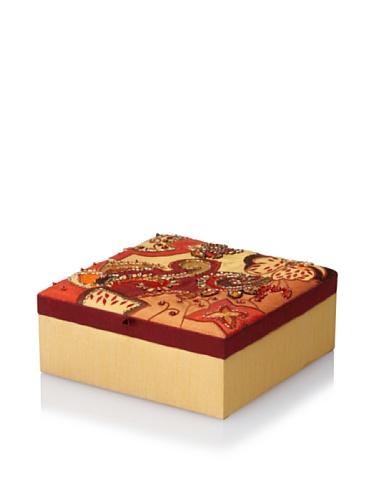 Purva Sequin Fireworks Jewelry Box, Multi