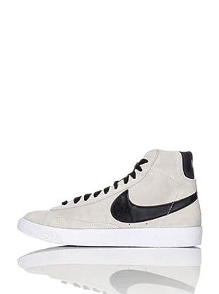 Nike Zapatillas Blazer Mid Vintage (Gs) (Gris Claro/Negro)
