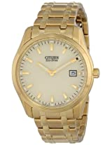 Citizen Men's Eco Drive AU1042-53P Bracelet Analog Display Gold Watch