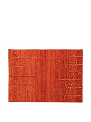 ABC Teppich  rot 170 x 240 cm