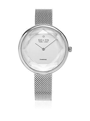 SO & CO New York Uhr mit japanischem Quarzuhrwerk Woman GP16005 38 mm