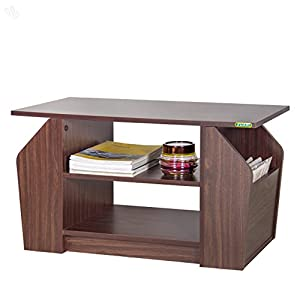 Zuari Center Table with Honey Brown Finish - Utility