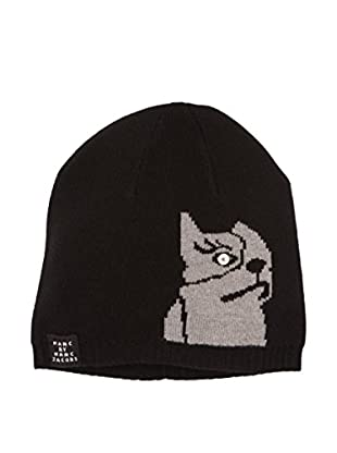 Marc by Marc Jacobs Cappellino Lana Dont Sweat My Pet Nero/Grigio