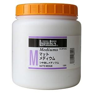 【クリックで詳細表示】Amazon.co.jp | リキテックス マット メディウム 1200ml | ホビー 通販