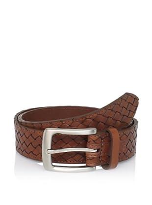 TOMMY BAHAMA Men's Braided Belt (Tan)