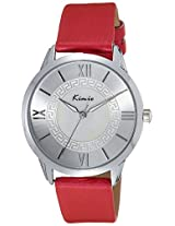 Kimio Analog Silver Dial Women's Watch - KW528M-S0111