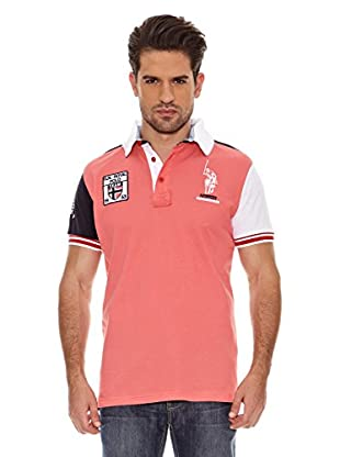 Geographical Norway Polo Manga Corta Kyle Ss Men 100 (Coral)