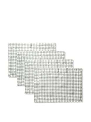 Sferra Set of 4 Piccadilly Placemats (Moss)