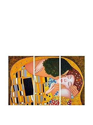 Arte dal Mondo  Wandbild Klimt Bacio Dettaglio
