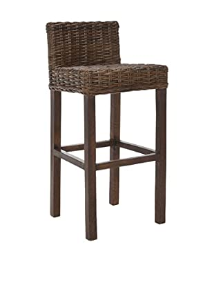 Safavieh Cypress Bar Stool, Croco Color