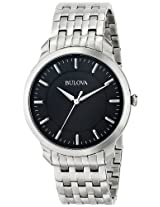 Bulova Classic Analog Black Dial Men's Watch - 96A134