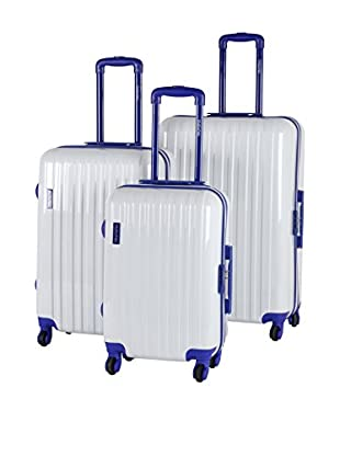MURANO Set de 3 trolleys rígidos CUE