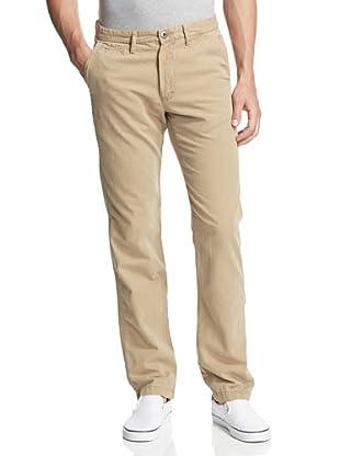 Original Paperbacks Men's Bayside Canvas Flat Front Pant (Khaki)