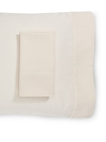 Belle Epoque Pair of 300 Thread Count Supima Pillow Cases, Natural, Standard
