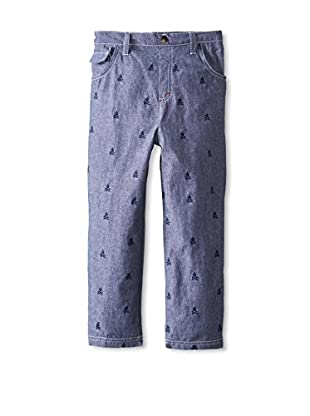 Kapital K Boy's Washed Denim 5-Pocket Pant
