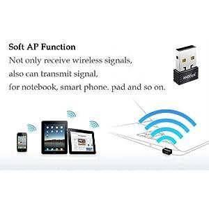 Leoxsys Mini Wireless N 11n Wi-Fi Nano USB Wi-Fi Adapter Dongle WiFi USB adapter
