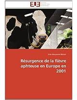 Resurgence de La Fievre Aphteuse En Europe En 2001
