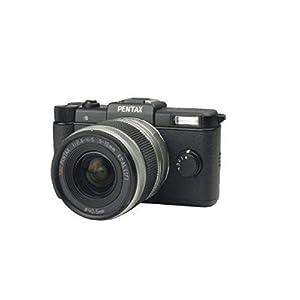 Pentax Q10 12MP 1/1.7-inch CMOS Mirrorless Camera with 5-15mm Zoom Lens (Black)