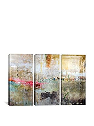 Julian Spencer Rain Clouds Gallery Wrapped Triptych Canvas Print
