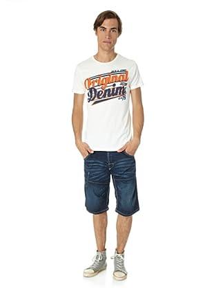 Jack & Jones T-Shirt Nub slim fit (Blanco)
