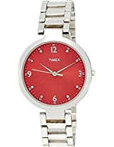 Timex Analog Watch - For Women Silver-TW000X203