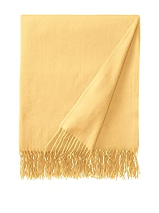 Sofia Cashmere Trentino Throw, Sunlight
