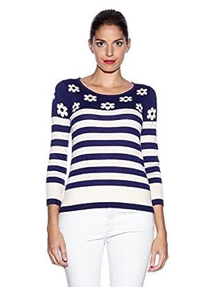 YUMI Pullover Daisy Stripe