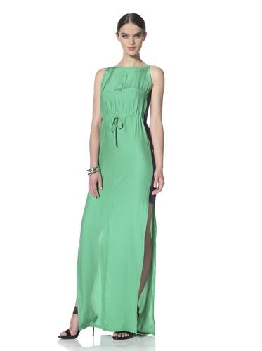 Yigal Azrouel Women's Sleeveless Two-Tone Dress (Island)
