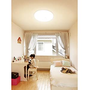 【クリックでお店のこの商品のページへ】アイリスオーヤマ LEDシーリングライト ~12畳 調光タイプ CL12N-E1: ホーム&キッチン