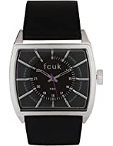 FC1078SBGN Black / Black Analog Watch