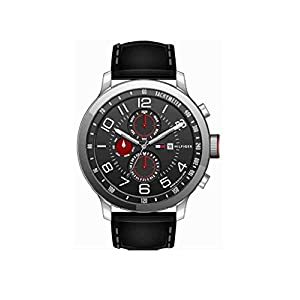 Tommy Hilfiger Analog Black Dial Men's Watch - TH1790859/J